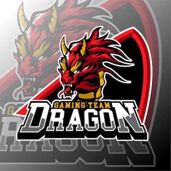 E distintivo del logo di gioco sportivo