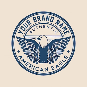 Eagle badge logo