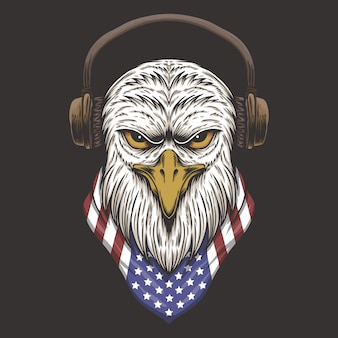 Eagle head usa