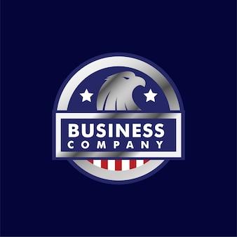 Eagle logo badge animals
