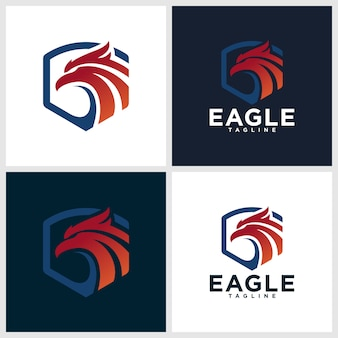 Eagle logo templates