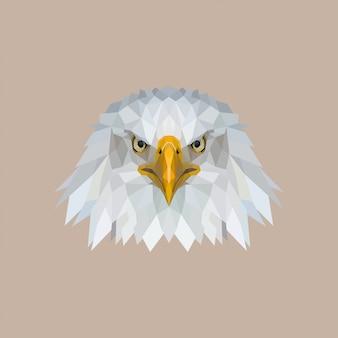 Eagle low poly art