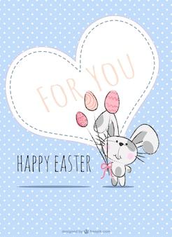 Easter card illustation