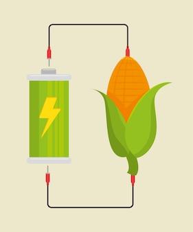 Eco energia verde