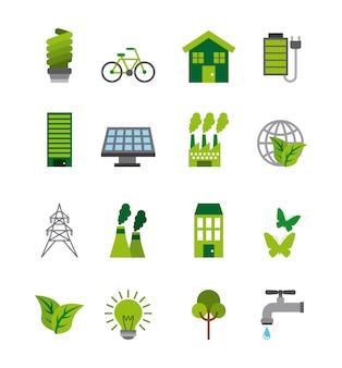 Ecologia e design idea verde