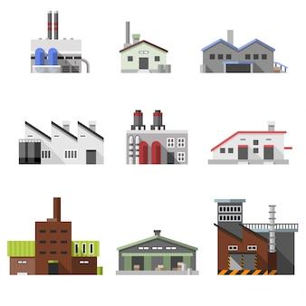 Edifici industriali piani
