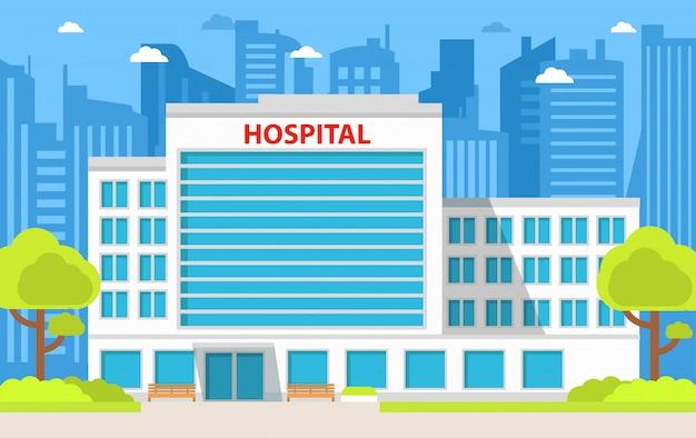 Edificio dell'ospedale cittadino.