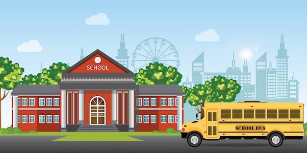 Edificio scolastico moderno.