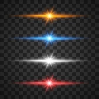 Effetti di luce incandescente