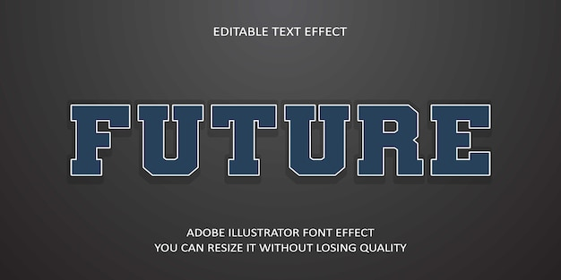 Effetto del carattere del testo futuro