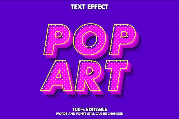Effetto di font testo moderno vecchio retrò