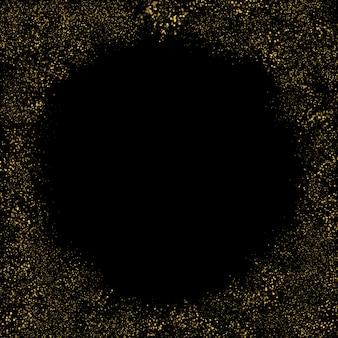Effetto di sfondo particelle glitter