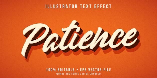 Effetto di testo modificabile - stile di testo script 3d