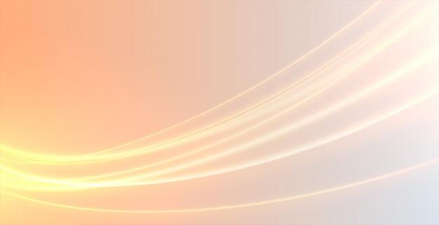 Effetto fascio di luce incandescente fascio di sfondo