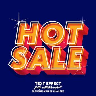 Effetto font di vendita calda