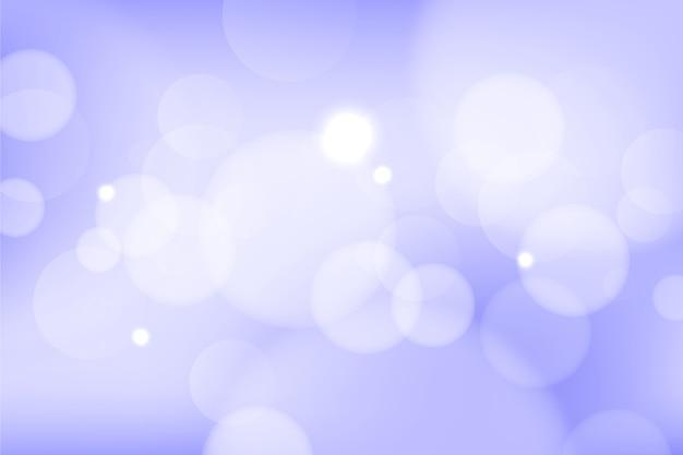 Effetto gradiente di screensaver effetto bokeh