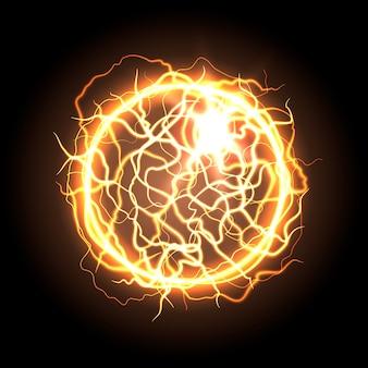 Effetto luce palla elettrica