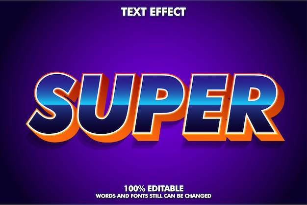 Effetto super font in 3d