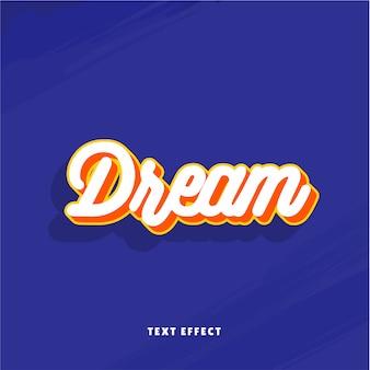 Effetto testo da sogno