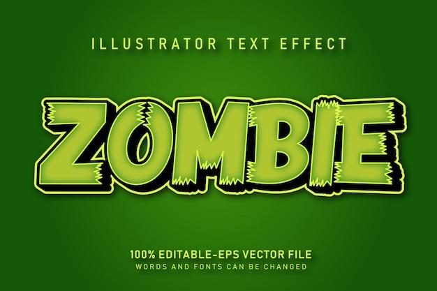 Effetto testo zombi
