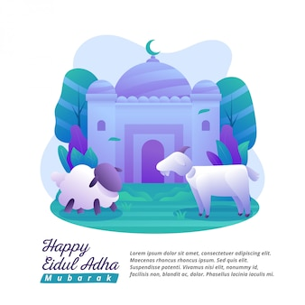 Eid al-adha è un giorno per condividere felicità e cibo