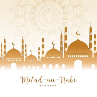Eid milad un nabi barawafat festival islamico