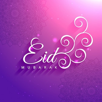 Eid mubarak santa saluto festa