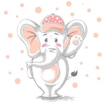 Elefante dei cartoni animati