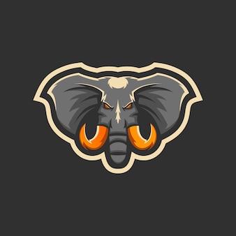 Elefante logo e-sport