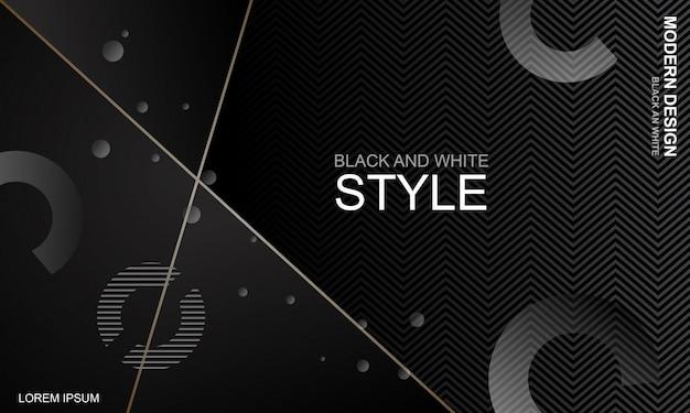 Elegante bakcground bianco e nero