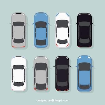 Elegante collezione di automobili