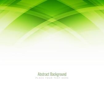 Elegante colore verde sfondo design moderno