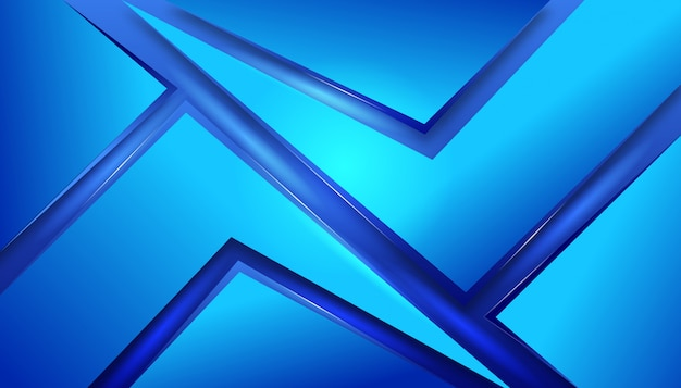 Elegante design elegante vetroso blu astratto