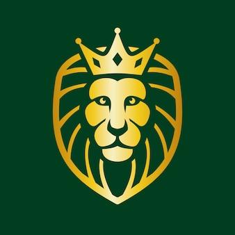 Elegante logo lion head