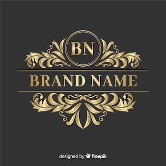 Elegante logo ornamentale