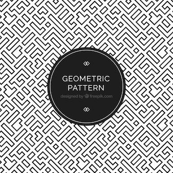 Elegante modello geometrico