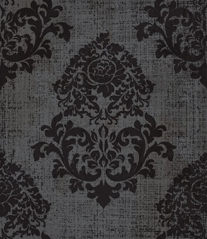 Elegante motivo barocco
