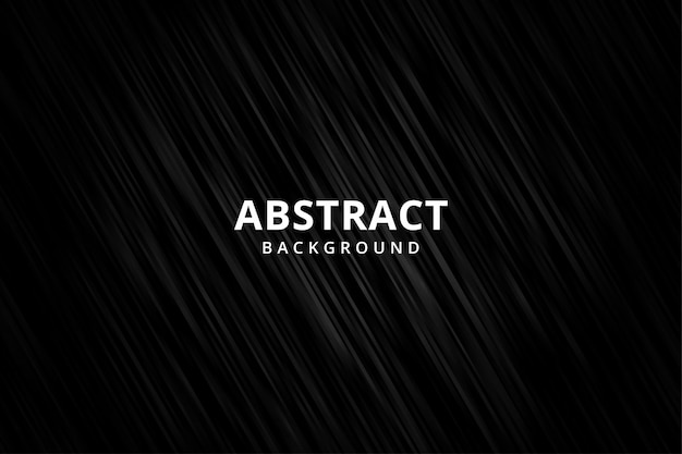 Elegante sfondo astratto carta da parati. striscia metallica in acciaio nero. vettore realistico 3d