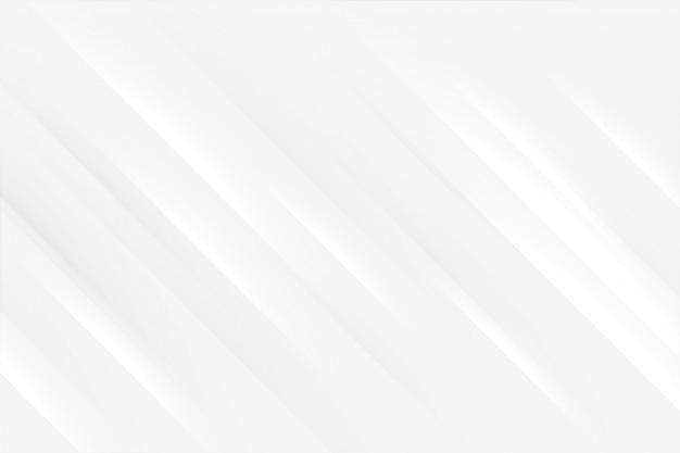 Elegante sfondo bianco con linee lucide