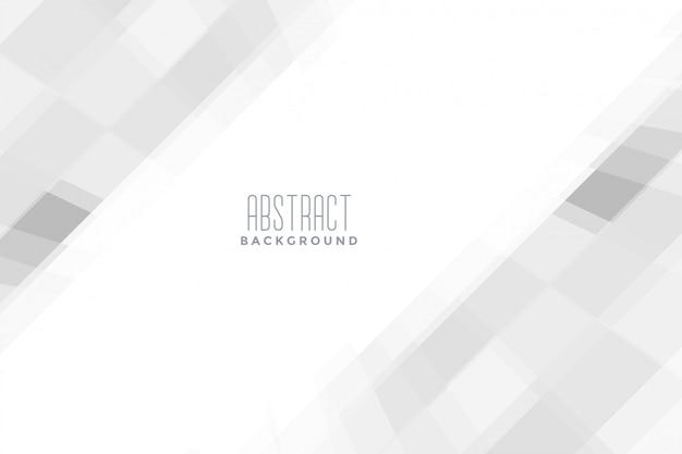 Elegante sfondo bianco di presentazione aziendale