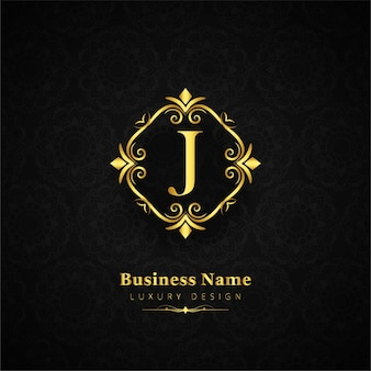 Elegante sfondo floreale del logo