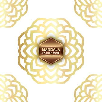 Elegante sfondo mandala
