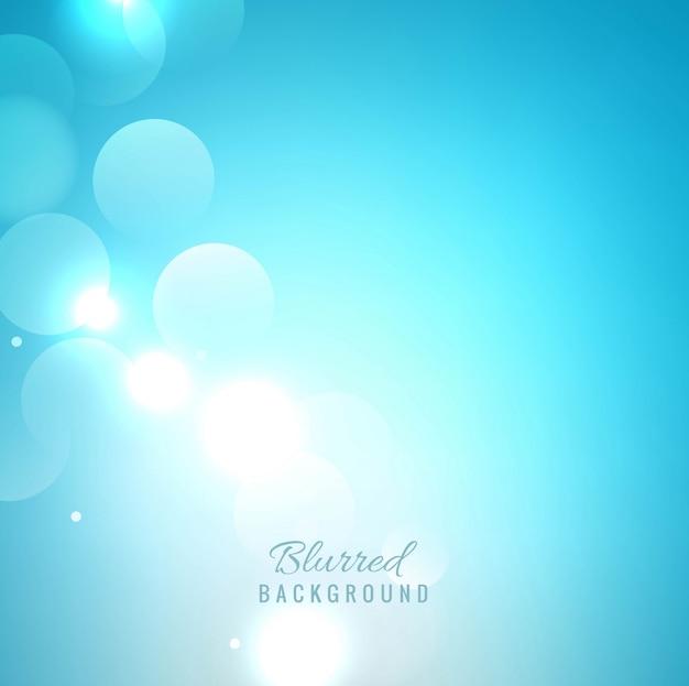 Elegante sfondo sfocato blu