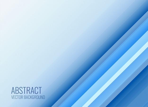 Elegante stile business sfondo blu