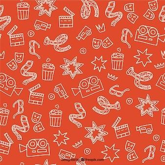 Elementi cimema sketches modello arancione