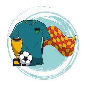 Elementi del fumetto di calcio