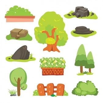 Elementi della natura collezione