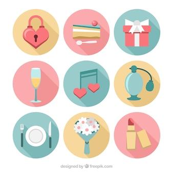 Elementi di celebrazione del matrimonio e l'amore