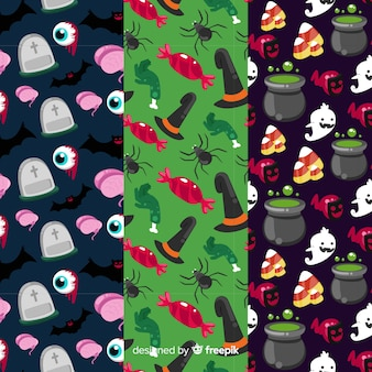 Elementi di decorazione spettrale per halloween