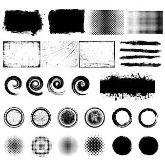 Elementi di design collezione